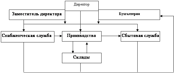ЦЕНТРАЛЬНАЯ НАУЧНАЯ БИБЛИОТЕКА Дипломная работа Учет и аудит  Организационная структура ТОО ts market представлена на рисунке 1